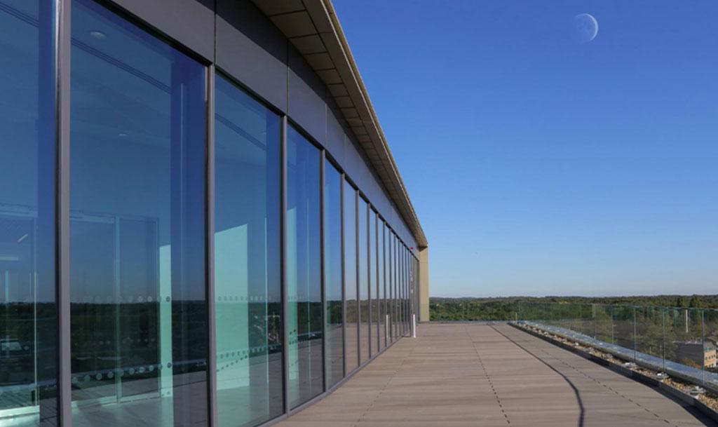 glasshouse exterior